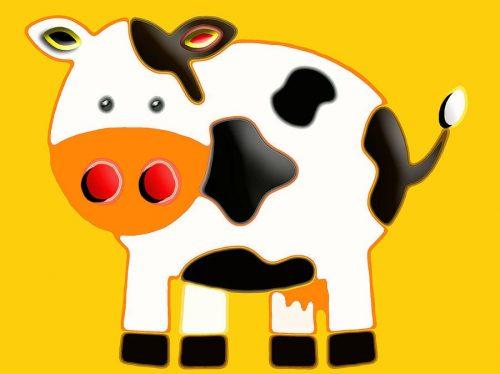корова картинки для детей1