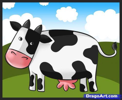 корова картинки для детей6