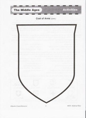 герб школы шаблон13