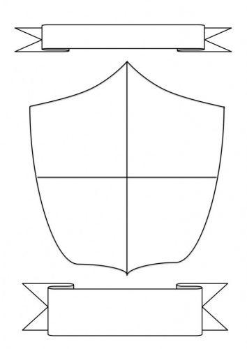 герб школы шаблон18