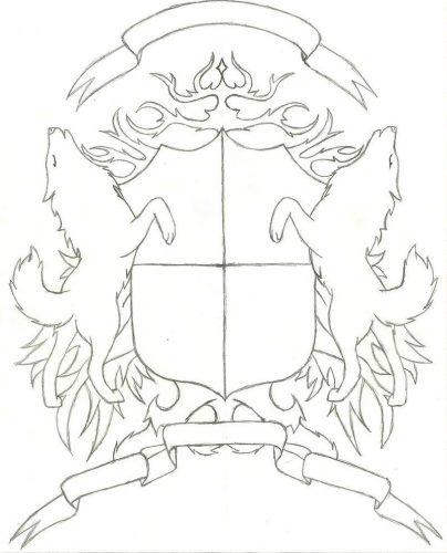герб школы шаблон20