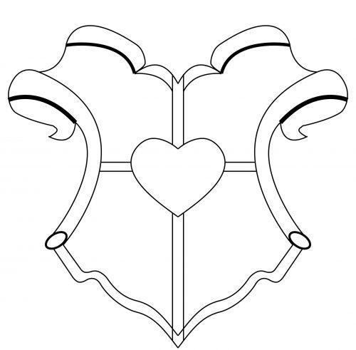 герб школы шаблон4