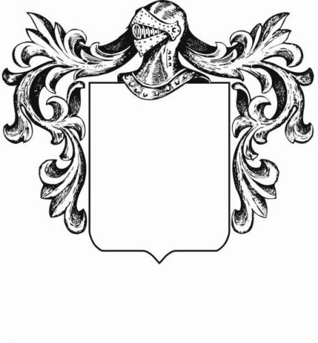 герб школы шаблон5