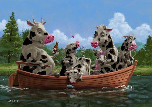 картинки смешные коровы4