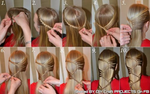 прически на выпускной на длинные волосы14