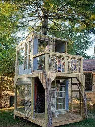дом в лесу картинка для детей