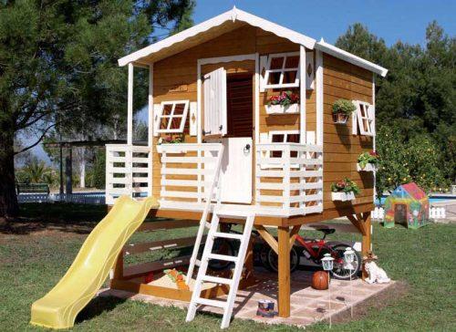 дом в лесу картинка для детей1