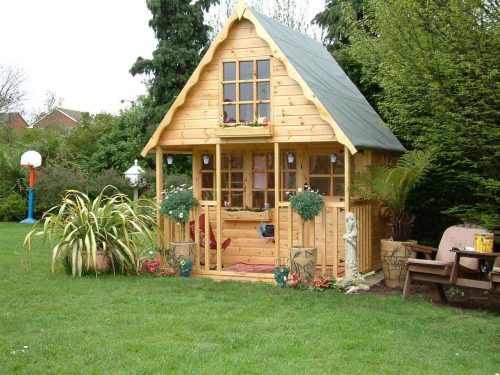 дом в лесу картинка для детей3