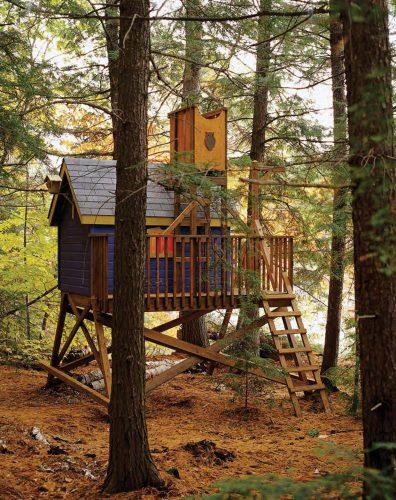 дом в лесу картинка для детей4