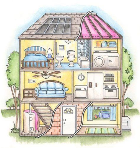 картинка домик