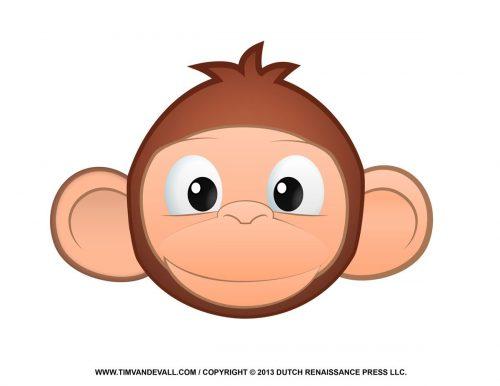 обезьяна маска2