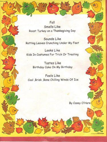 стихи на английском для детей3