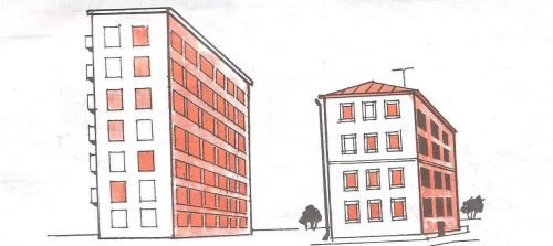 Многоэтажный дом картинки3