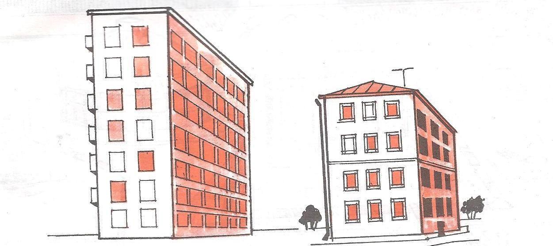 курагу замочите многоэтажные дома картинки рисунки картинка рабочий