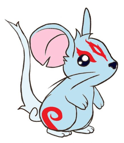 мышка картинка для детей2