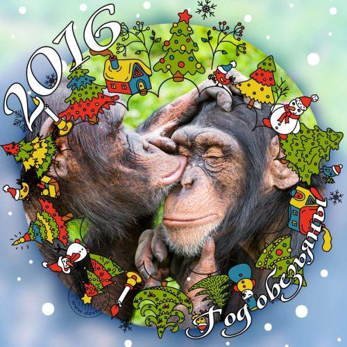 Открытки с новым годом 20164