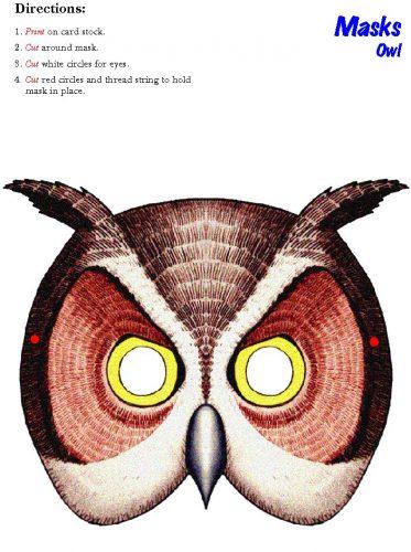 маска совы2