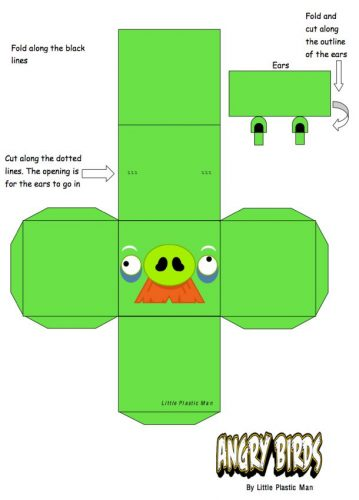 игрушка из бумаги2