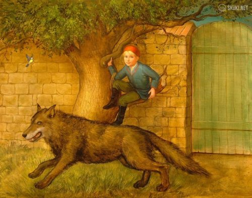 картинки петя и волк