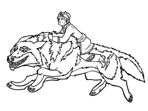 Петя и волк раскраски