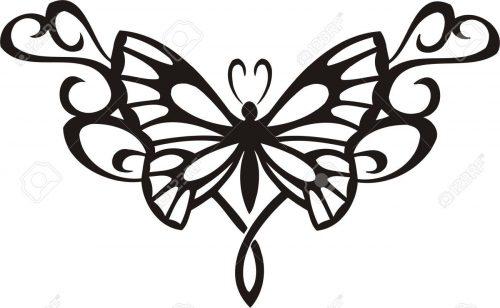 картинки бабочек для вырезания13