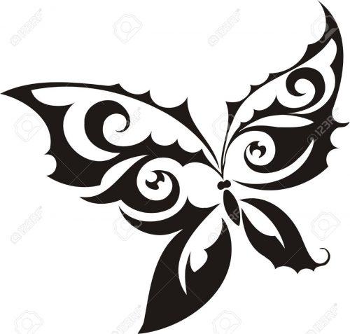 картинки бабочек для вырезания9