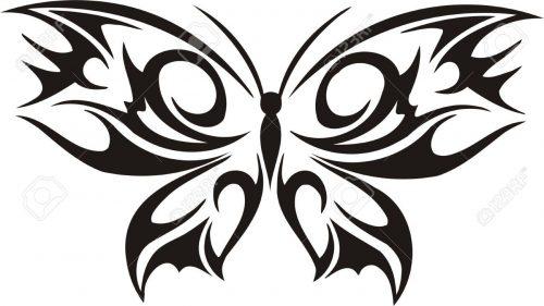 картинки бабочек для вырезания10