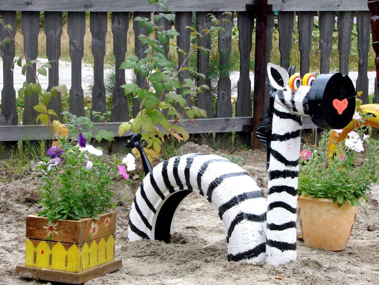 Какие поделки можно сделать поделки для сада своими руками