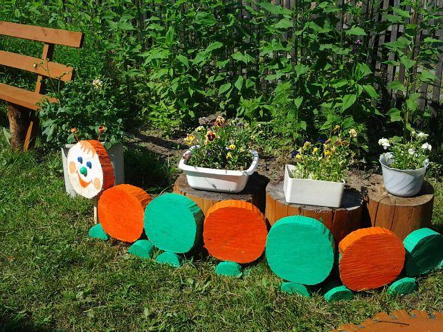 Поделки для дачи и сада своими руками из шишек