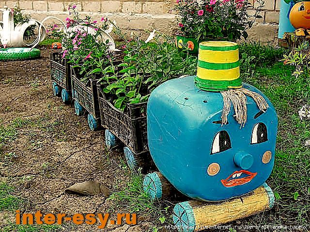Поделки для сада и огорода своими руками из шин фото