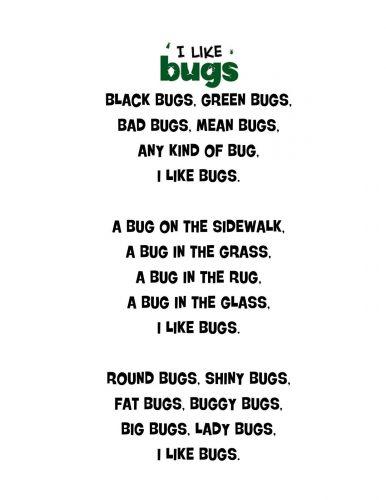 стихи на английском для детей8