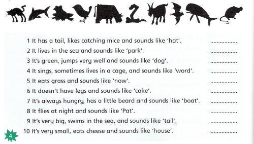 загадки на английском про животных3