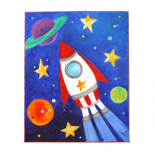 ракета картинка для детей1