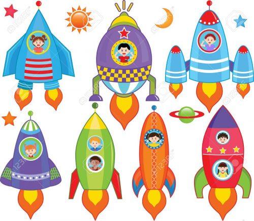 ракета картинка для детей6