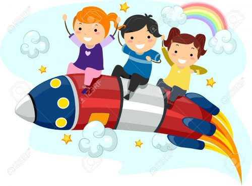 ракета картинка для детей8