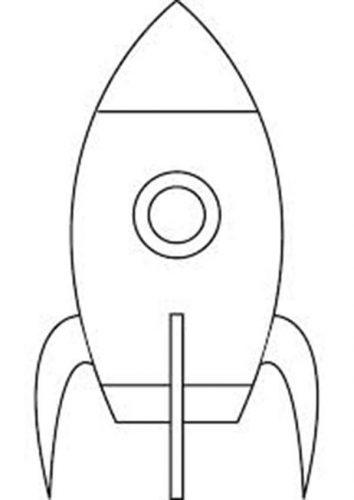 ракета раскраска12