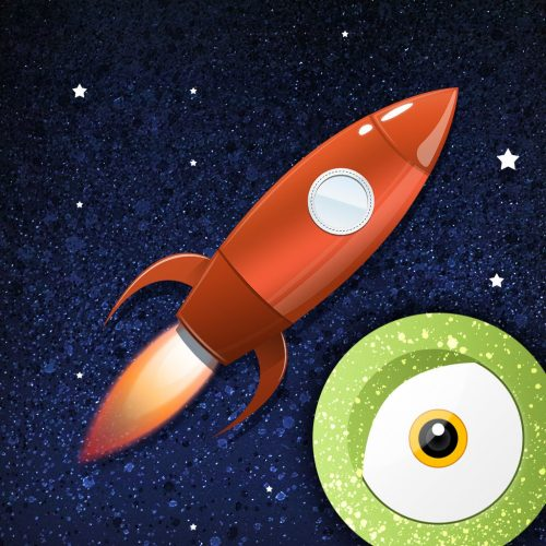 ракета картинка для детей
