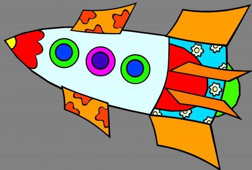 ракета картинка для детей3