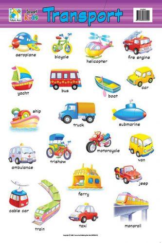 транспорт по английски