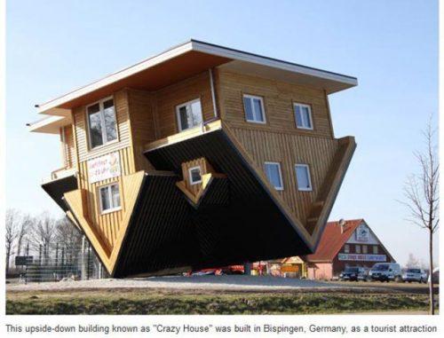 картинки необычных домов