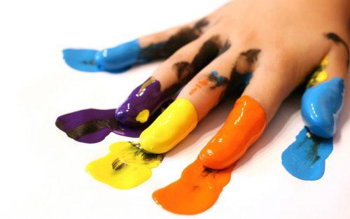детские пальцы
