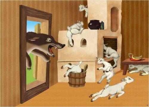 семеро козлят и волк кртинка3