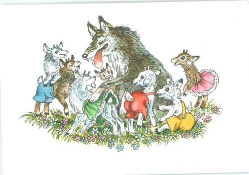 семеро козлят и волк кртинка7