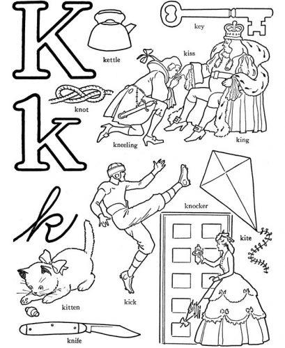 слова на английскую букву k