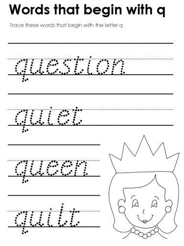 слова на английскую букву q3