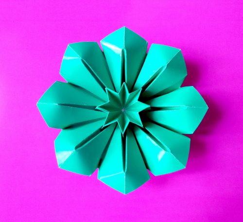 цветы из бумаги6