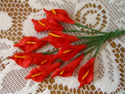 цветы из бумаги4