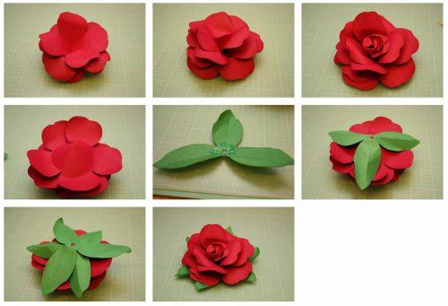цветы из бумаги5