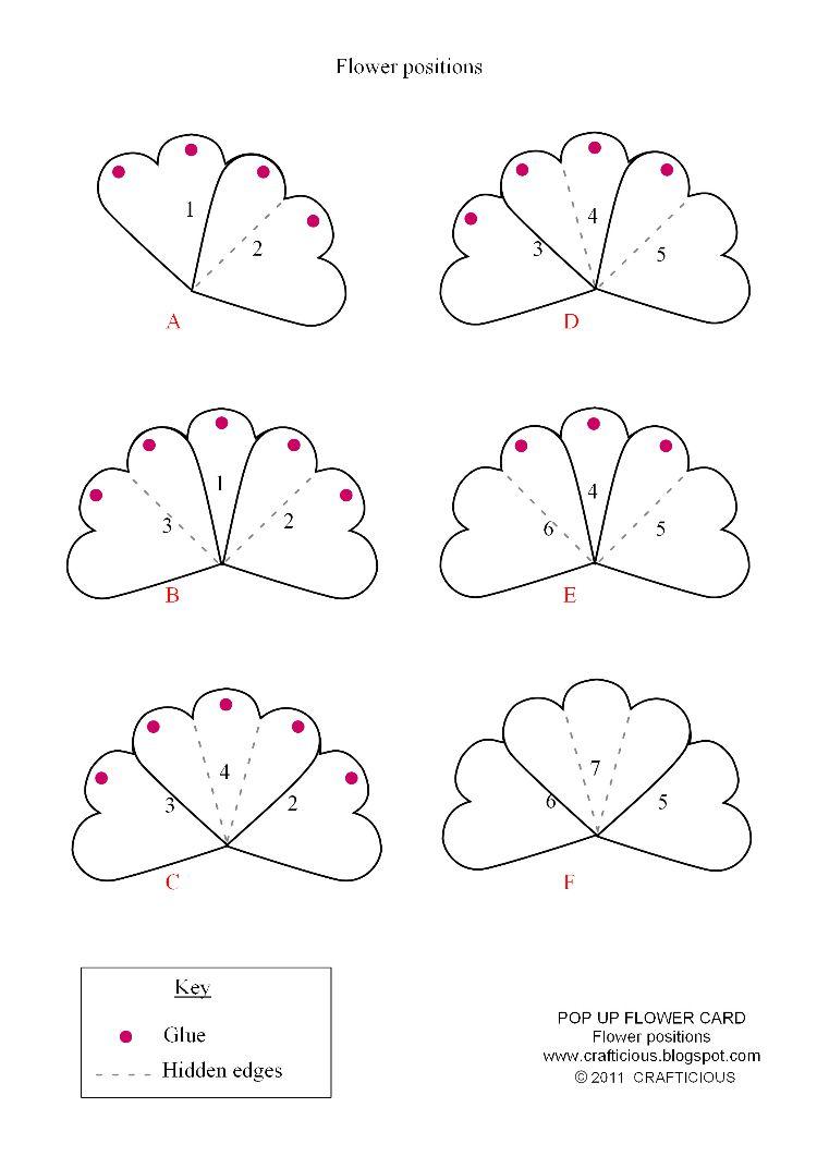 Объемные открытки своими руками схемы шаблоны: 19. - Pinterest 18
