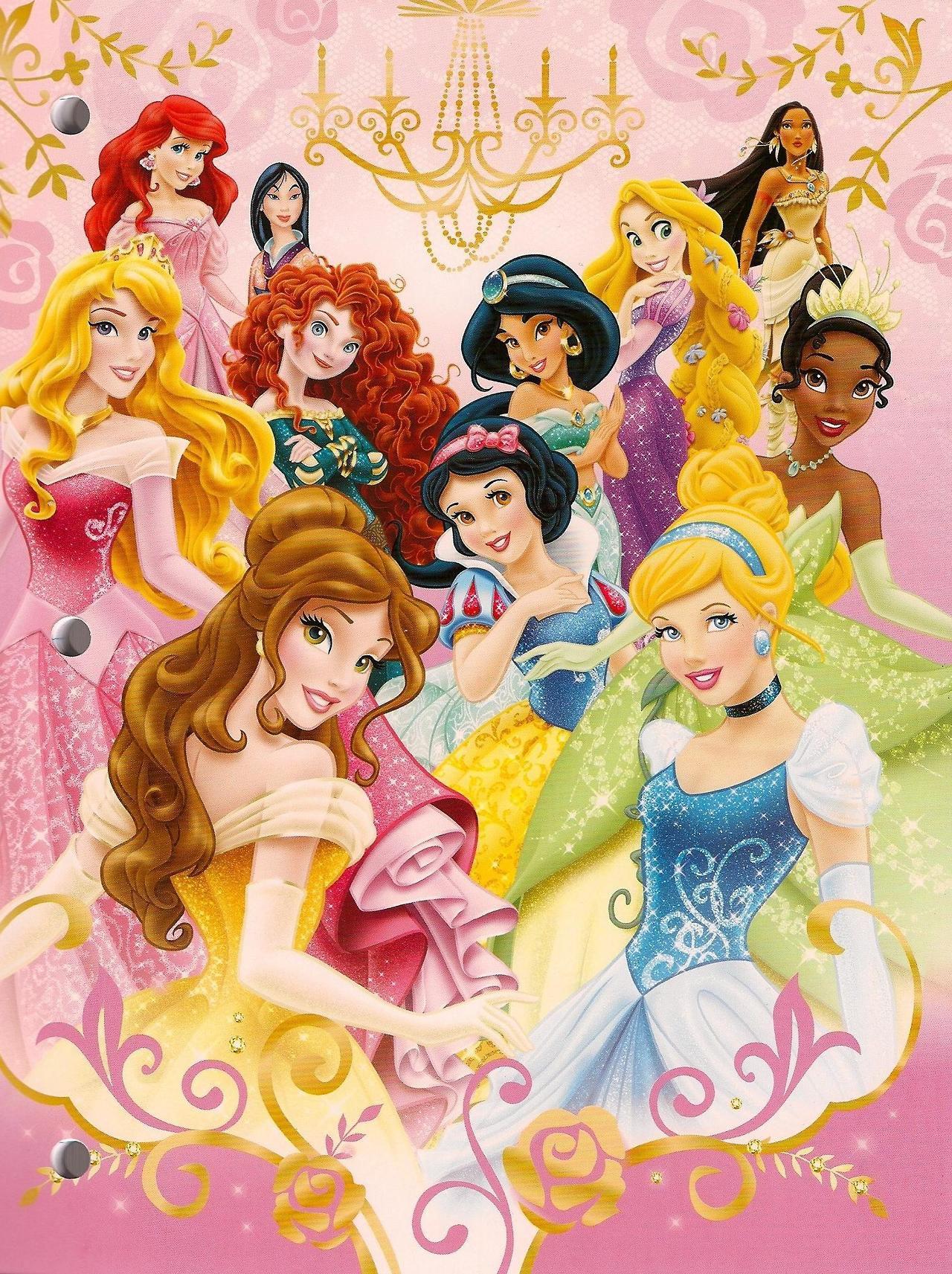 Картинки: принцессы Диснея